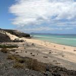 Pláž na Fuerteventuře