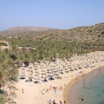 Řecko - Kréta - pláž Vai