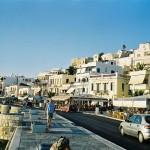 Naxos, promenáda
