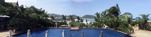 Hotel Novotel, horní bazén
