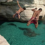 Menorca, pláž Cala Mitjana