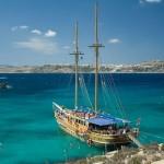 Malta, Comino lagoon (autor: drifter, Flickr)