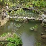 Údolí motýlů Petaloudes, rybníček