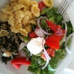 Oběd v Mikri Poli