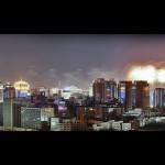 Peking pod ohňostrojem (autor: Jake_Ji, Flickr)