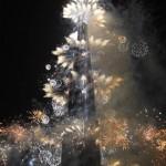Burj Chalífa v záplavě světel