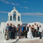 Svatba v Řecku na Santorini