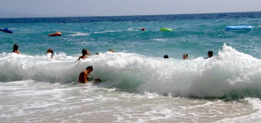 Chorvatsko vlny Hvar
