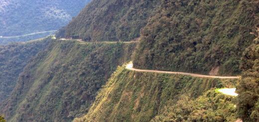 Cesta smrti v Bolívíi